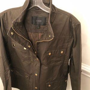 J. Crew Olive Jacket Large